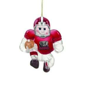 ALABAMA CRIMSON TIDE HALFBACK CHRISTMAS ORNAMENTS (3)