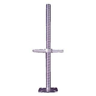 Galvanized 24 Screw Jack W/ Plate   Hollow
