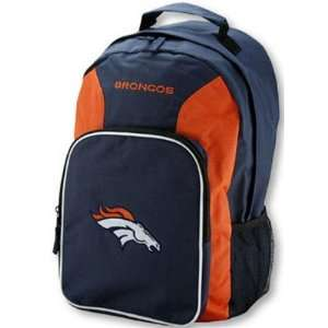 Denver Broncos NFL Football Team Blue Backpack Back Pack