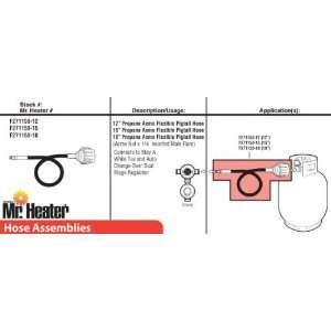 Mr. Heater F271158 18 18 Propane Hose Assembly
