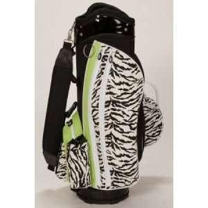Sassy Caddy Ladies Golf Cart Bags   Zippy Zebra Animal