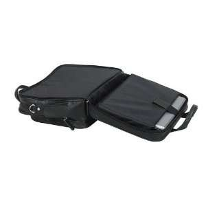 Goodhope Bags Scan Express Leather Laptop Case in Black