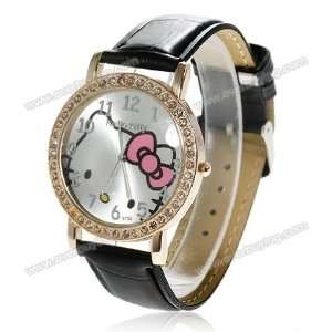 Miss Peggys Hello Kittys* Jw391bk Watch and a Big Bling Hello Kitty