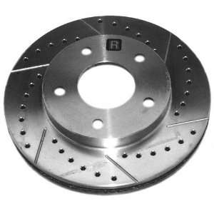 Duty Right Front Disc Brake Rotor Only   High Performance Automotive
