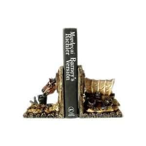 Western Horse & Wagon Cowboy Bookends Book Ends / Set Home & Kitchen