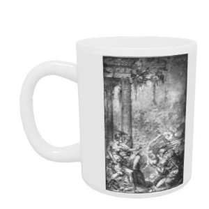 Magic Scene (ink on paper) by Giovanni Battista Rosso Fiorentino   Mug