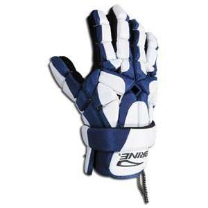 Brine Rogue Lacrosse Gloves 12 (Navy):  Sports & Outdoors