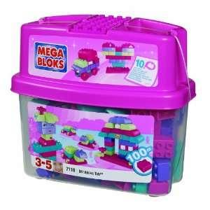 Mega Bloks Miniblocks Tub Pink Toys & Games