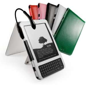 Tuff Luv Spark Leather Case Cover for  Kindle Keyboard