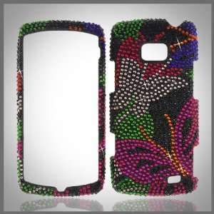 crystal bling case cover LG Ally VS740 Cell Phones & Accessories