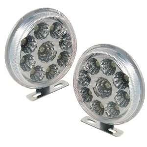 Shape 9 LED Spotlight Daytime Running Lights Kits