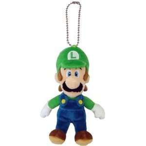 Nintendo Super Mario Luigi 6 Plush Keychain Toys & Games