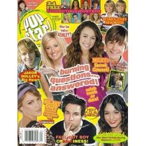 Pop Star! Magazine April 2007 Jason Dolley, Hilary Duff