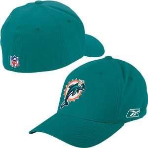 Reebok Miami Dolphins Sideline Structured Flex Hat Sports