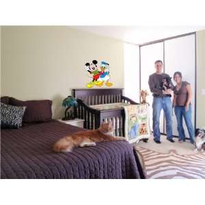 MICKEY MOUSE CARTOON WALL COLOR STICKER MURAL DISNEY