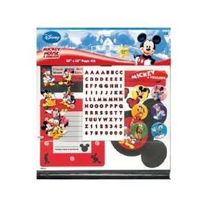 Mickey Mouse Page Kit 12X12 Mickey & Friends
