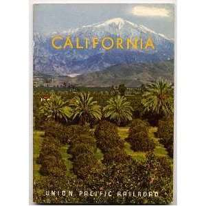 Union Pacific Railroad CALIFORNIA Travel Booklet 1952