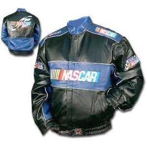 NASCAR Leather Racing Jacket