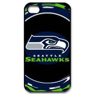 Designed iPhone 4/4s Hard Cases Seahawks team logo Cell