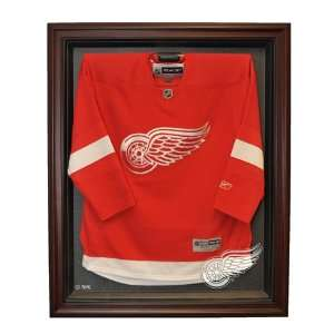 Detroit Red Wings Hockey Jersey Display Case, Cabinet