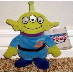 Vintage Style Out of Production Disney Toy Story Alien 7 Plush Bean