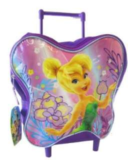 Tinker Bell Rolling Backpack  Toddler Size Fairy
