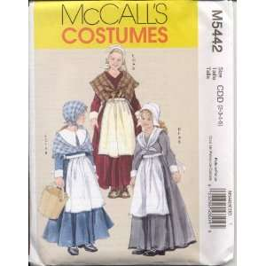 McCalls Costume Sewing Pattern M5442 size CDD (2 3 4 5