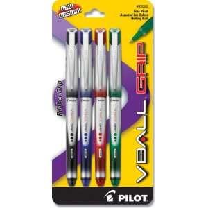 Pilot VBall Grip Liquid Ink Rolling Ball Pen, Fine Point