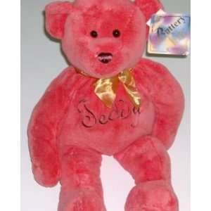 Coral Teddy Bear Buttery Soft & Plush Stuffed Animal Toys & Games