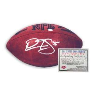 McNabb Autographed Offical NFL Leather Football