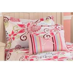 Flower Power Queen Bedding Set