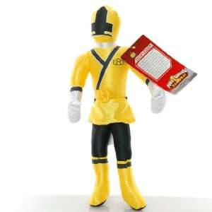 11 Power Rangers Samurai Yellow Action Figure Plush Doll