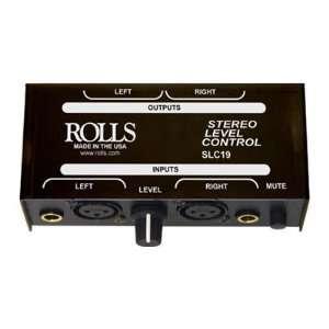 Rolls Stereo Level Control   Rolls SLC19 Electronics