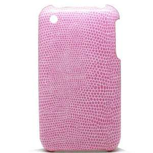 Apple Iphone 3g 3gs Hard Pink Snake Skin Cover Case 05 Electronics