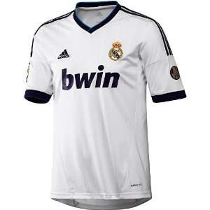 Real Madrid Home Authentic Soccer Jersey Sports