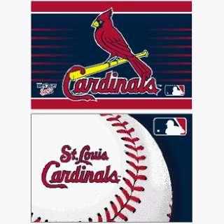 St Louis Cardinals Set of 2 Magnets **