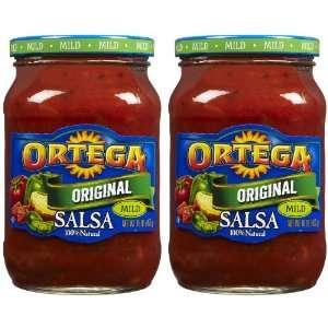 Ortega Salsa Prima Mild Homestyle, 16 oz, 2 pk  Grocery