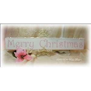 Merry Christmas, Shabby Style Home & Kitchen