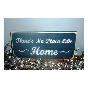THERES NO PLACE LIKE HOME Shabby Country Chic CUSTOM Wood