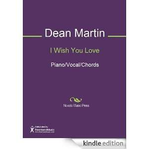 Wish You Love Sheet Music (Piano/Vocal/Chords) Charles Trenet