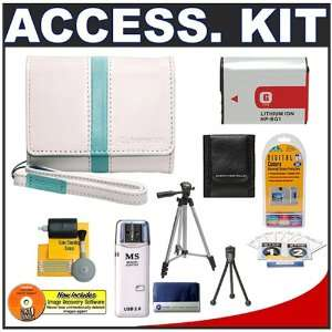 Accessory Kit for Sony CyberShot W and T Series Digital Cameras