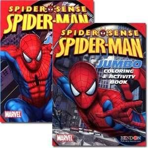 1 Piece Spiderman Jumbo Coloring & Activity Book 96 Pg