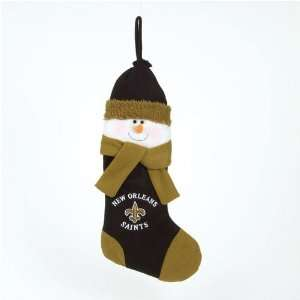 New Orleans Saints NFL Snowman Holiday Stocking (22)