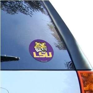LSU Tigers Round Vinyl Decal