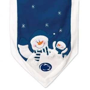 Penn State Nittany Lions Snowman Table Runner