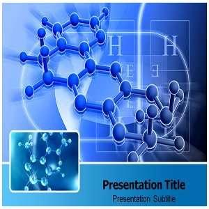 Molecule powerpoint template Molecule Powerpoint