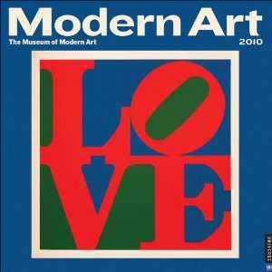 Modern Art 2010 Wall Calendar (9780789319524) New York
