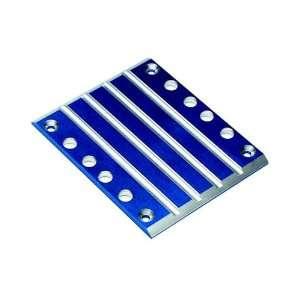Aluminum Transmission Skid Plate Blue