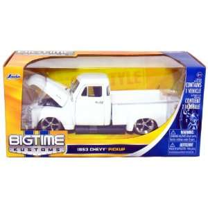 1953 Chevy Pickup Truck 124 Scale (White)  Toys & Games