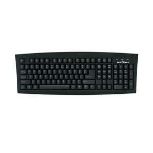 Grade Antimicrobial Keyboard   SSKSV108ES Spanish/Espanol   Black USB